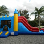 Sanford, Waterslide, bounce house