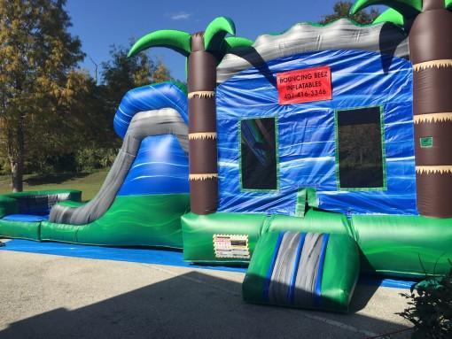 Sanford, waterslide, bounce house