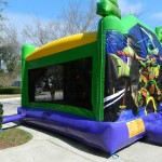 bounce house, waterslide, Lake Mary