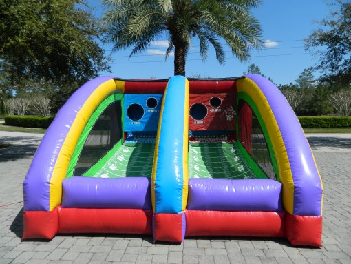 bounce houses, waterslide, Lake Mary